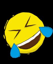 Emoji laugh 1