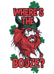 Where is the booze?